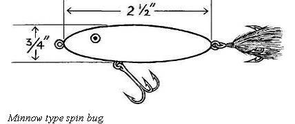 Heavier Minnow Spin Bugs