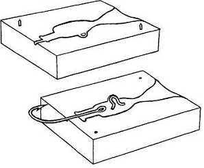 Jig Molds - Hook And Wire Eye In Place